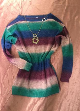 Цветной свитер h&m