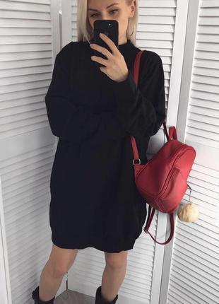 Тепле плаття-світшот