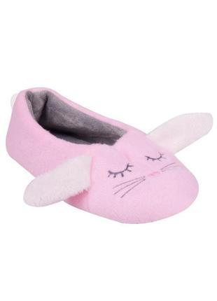 Новые тапочки кролики розовые, yo, bl-35