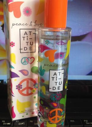 Avon peace & love attitude