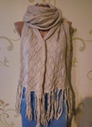 Atmosphere . модный ажурный шарф шаль палантин