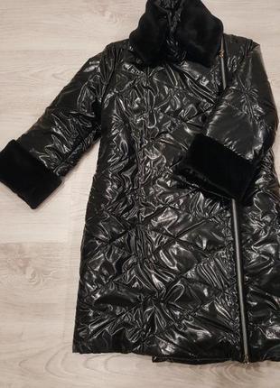Новая куртка/пальто тм juliana style, размер s/m рукав 3/4