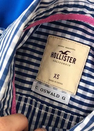 Сорочка в клітинку hollister3 фото