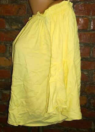 Топ блуза кофточка со спущенными плечами f&f2 фото