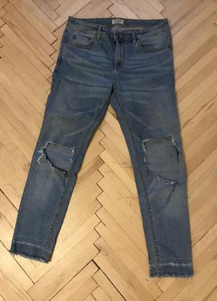 Рваные мужские джинсы 2019 - купить недорого мужские вещи в интернет ... f9e0cb83bc3