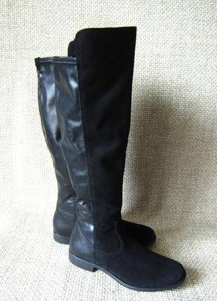 Ботфорти шкіряні нові оригінал tamaris розмір 40 c32da93c25bd7