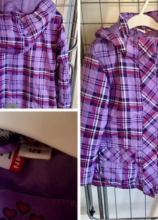 Куртка демисезонная berti 7-8 лет