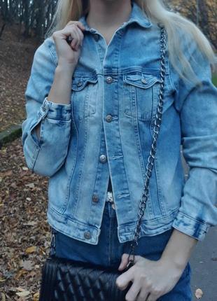 Джинсовка пиджак куртка джинсовый