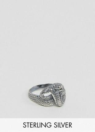 Кольцо перстень змея от asos