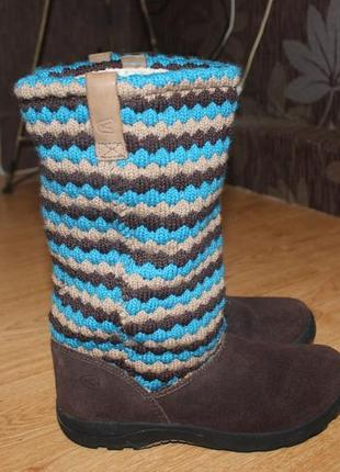Стильні теплі ботинки , сапожки зимові