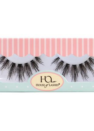 Накладные ресницы house of lashes из натурального волоса