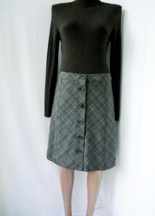 Хит сезона!! юбка-трапеция от imitz с пуговицами спереди. размер uk 10 eur 36