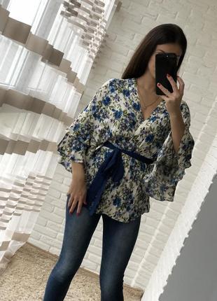 Шикарная блуза от zara