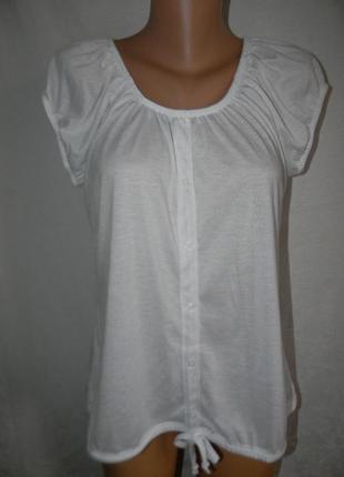 Белая новая блуза