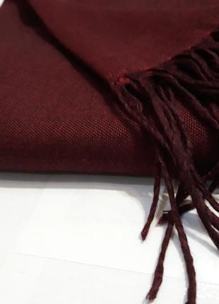 ❣роскошный марсал меланж шаль шарф шерстяной качество люкс
