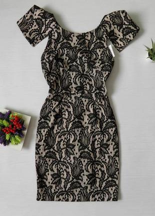 Кружевное новое платье topshop гипюр кружево выпускное вечернее платье нарядное
