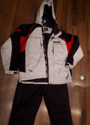 Лыжный костюм мужской  karbon 52-54/182-188.  подходит для сноуборда. оригинал