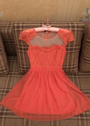 Коктейльное платье английского бренда elise ryan