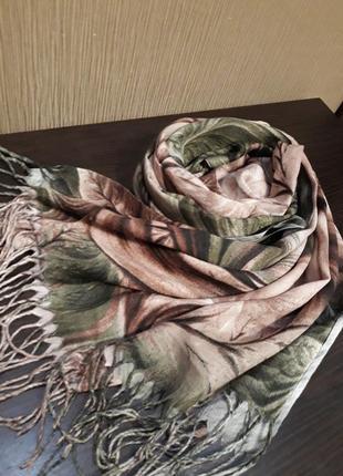🎈роскошный кашемировый шарф шаль