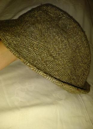 Harris tweed  шляпа для женщины