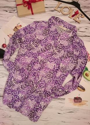 Красивая рубашка большой размер