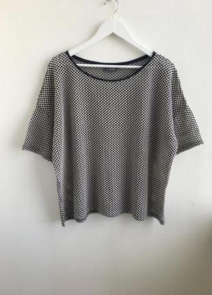 Шикарная ажурная блуза,футболка c&a