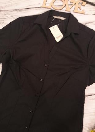 Красивая классическая блуза с биркой 8-102