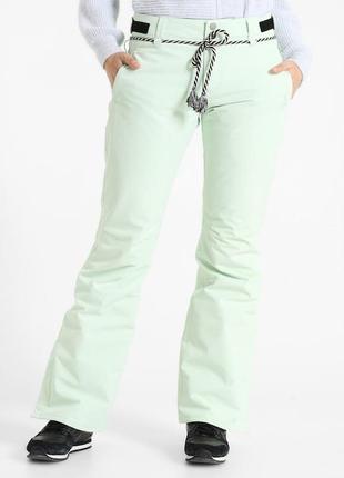 Сноубордические штаны мятного (фисташкового?) цвета