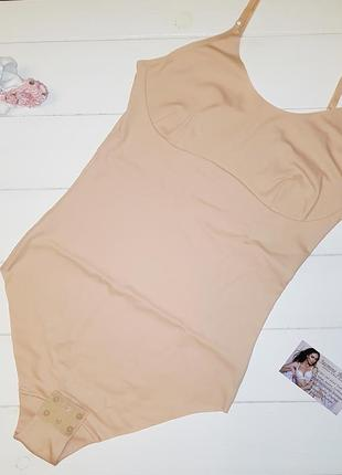 Хлопковое безшовное боди jasmine lingerie