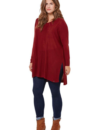 Трикотажная туника -пуловер от тсм германия , размер 48 евро=54-56