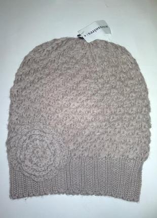 Модная женская шапка c&a германия