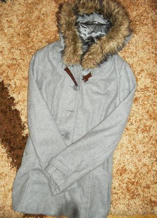 Парка, пальто, куртка с мехом