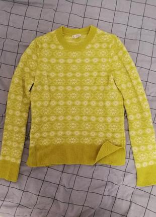 Свитер с шерстью, теплый свитер, кофта gap