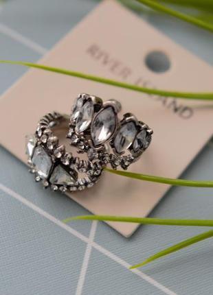 Кольцо, перстень, колечко от river island