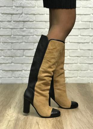 Сапоги zara с контрастным носком sh1844162 zara2 фото