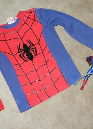 Кофта человек-паук на 2-3 года spider-man marvel.