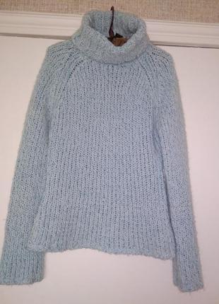 Супер свитер из бархатной нити с ламой тренд англия