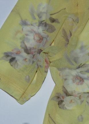 Желтенькая сеточка в цветах  от new look3
