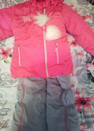 Зимовий комплект (курточка та комбінезон)