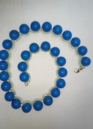 Колье ожерелье массивное