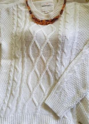 "Великолепный теплый джемпер"" holly &  whyte"" by lindex  38-40 шерсть мериносов/мохер"