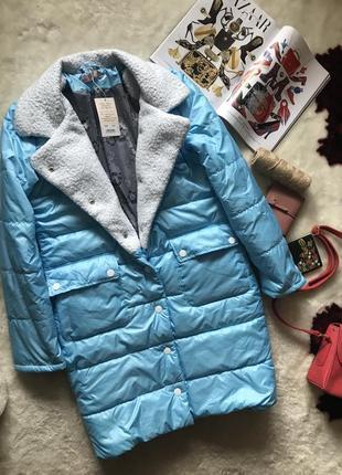 Тёплое идеальное пальто на зиму