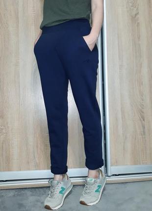 Трикотажные спортивные штаники ровного кроя коллеция 2018 puma