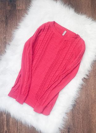 Свитер светр свитерок в косы stradivarius