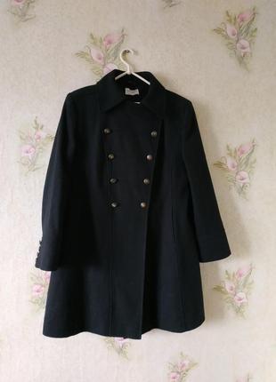 Стильное фирменное пальто 62% шерсть. atmosphere