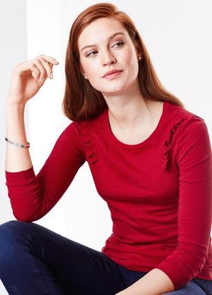 Лонгслив блуза размер  54-56 наш tchibo тсм
