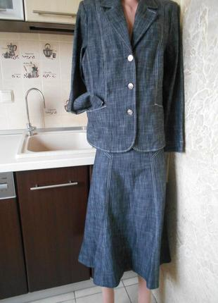 #  джинсовый костюм #crealine#