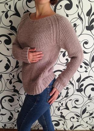 Свитер женский,свитер теплый,свитер вязаный