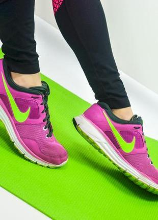 Nike lunarfly 4 розовые кроссовки для спорта, спортивная обувь, фитнеса, бега 40 (25,5 см)