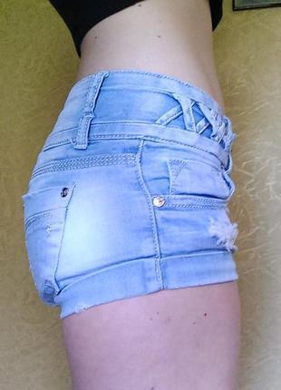 Шорты джинсовые летние